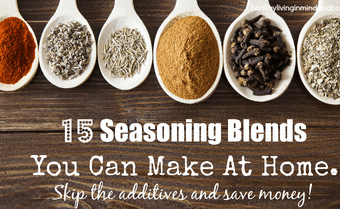 15 Seasoning Blends You Can Make Yourself to Save Money
