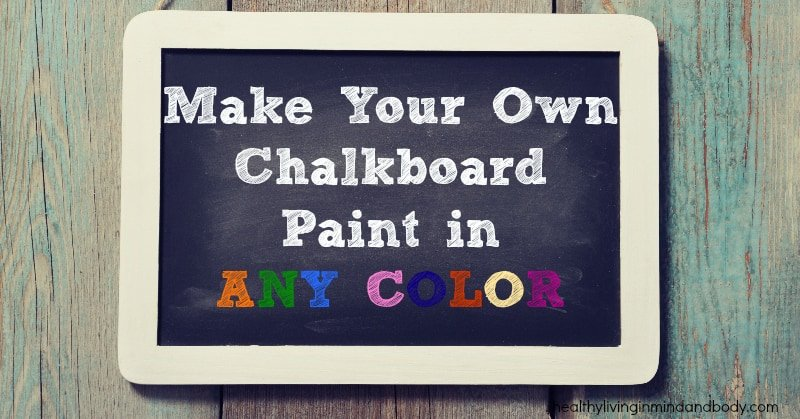 How To Make Pink Chalkboard Paint