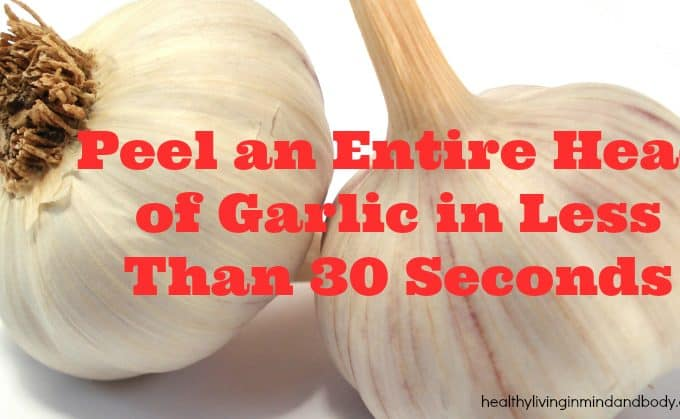 Peel an Entire Head of Garlic in Less Than 30 Seconds