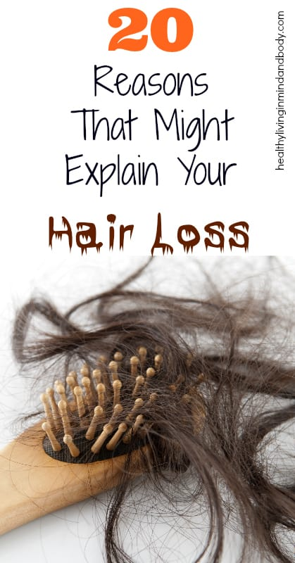 20 Reasons that might explain your hair loss