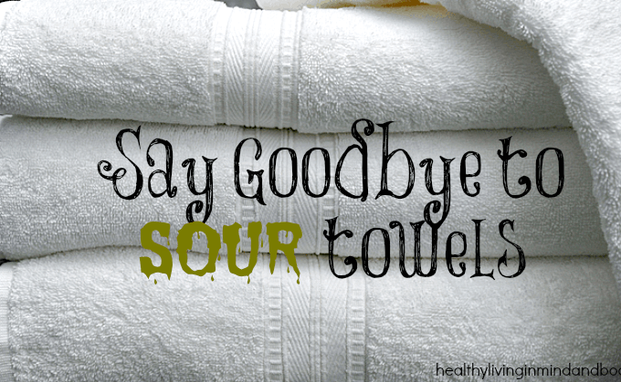 Say Goodbye To Sour Towels with 1 Ingredient