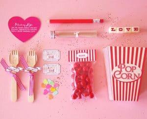 Popcorn Date Night Invitation