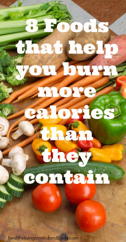 8 Foods That Help You Burn More Calories Than They Contain