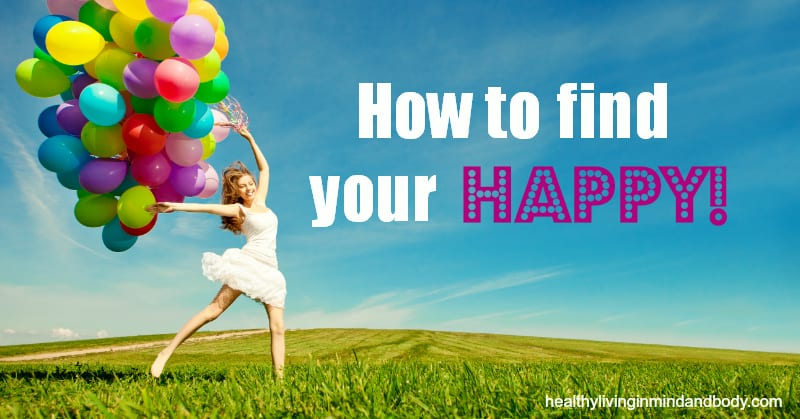 How to find your happy