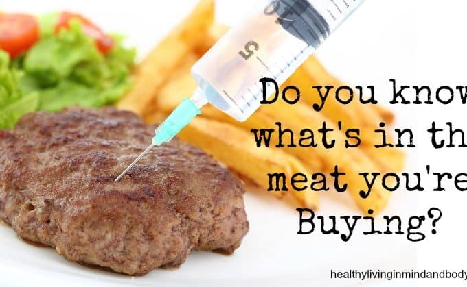 Do you know what's in the meat you're buying?