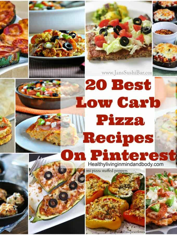 20 Most Popular Low Carb Pizza Recipes