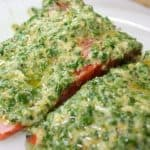 Salmon with Lemon Chive Sauce