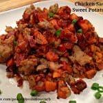 Chicken Sausage Sweet Potato Hash