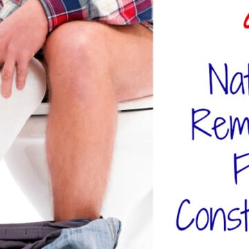 9 Natural Remedies For Constipation