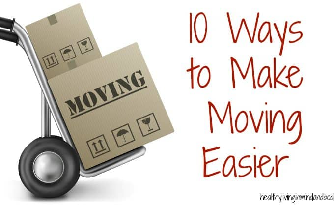 10 Ways to Make Moving Easier