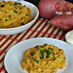 Roasted Cauliflower and Sweet Potato Puree