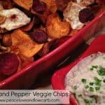 Salt and Pepper Veggie Chips