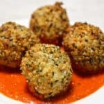 Hemp Heart + Goat Cheese Croquettes