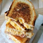 Pancetta mac and cheese panini