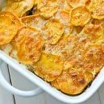 recipe | sweet potato & kale gratin