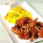 Thai Fried Chicken Wings with Hot-and-Sour Sauce and Salted Mango