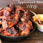 Applewood Sticky Bacon Wings