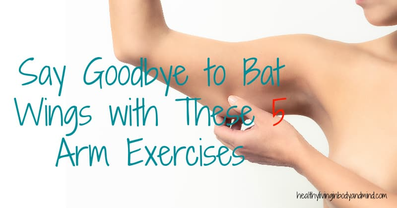 Say Goodbye to Bat Wings with These 5 Arm Exercises