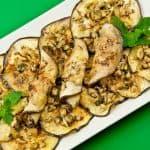 Marinated Eggplant Slices