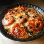 Eggplant Tomato Pie