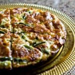 White Cheddar, Asparagus, & Ham Frittata