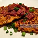 Bacon Sweet Potato Cakes
