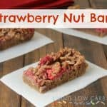 Strawberry Nut Bars