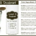 Coconut Oil Deodorant