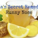 Runny Nose Relief