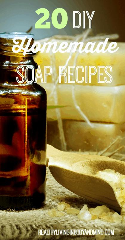 20 DIY Homemade Soap Recipes