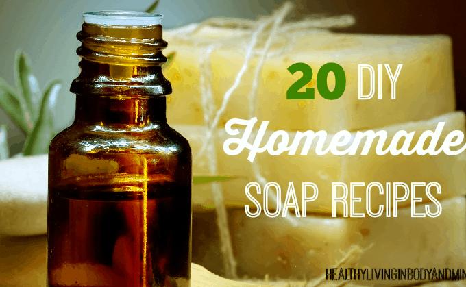 Round Up – 20 DIY Homemade Soap Recipes