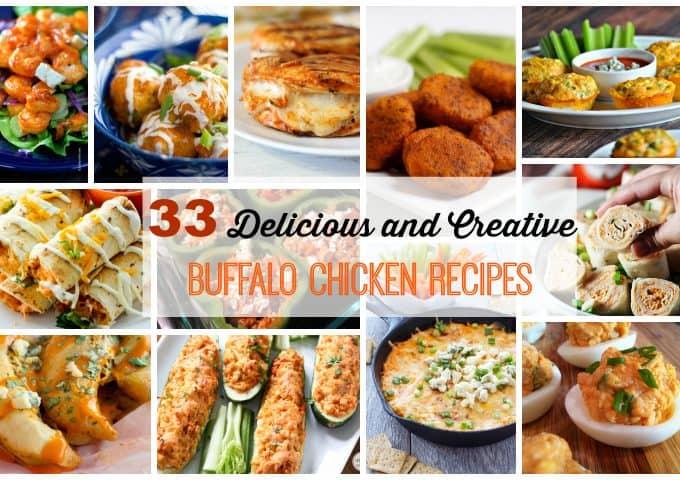 33 Delicious and Creative Buffalo Chicken Recipes