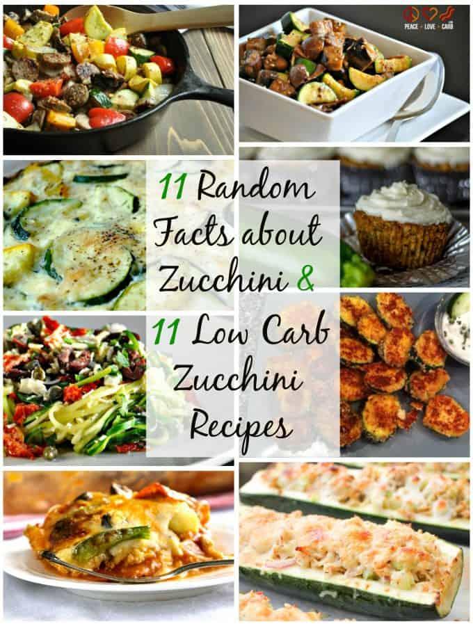 11 Random Facts about Zucchini and 11 Zucchini Recipes