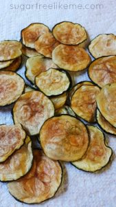 Baked Zucchini Chips - Low Carb, Gluten Free | 11 Random Facts about Zucchini and 11 Low Carb Zucchini Recipes