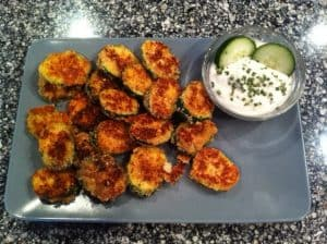 Almond Parmesan Zucchini Crisps | 11 Random Facts About Zucchini and 11 Low Carb Zucchini Recipes
