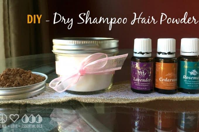 DIY - Dry Shampoo Hair Powder with Essential Oils