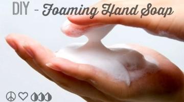 DIY Foaming Hand Soap Recipe - Antibacterial