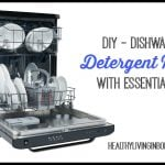 DIY Home - Dishwasher Detergent Recipe