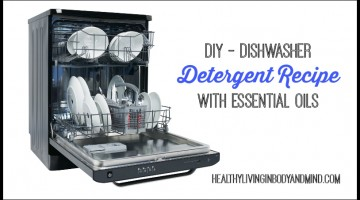 DIY Home - Dishwasher Detergent Recipe