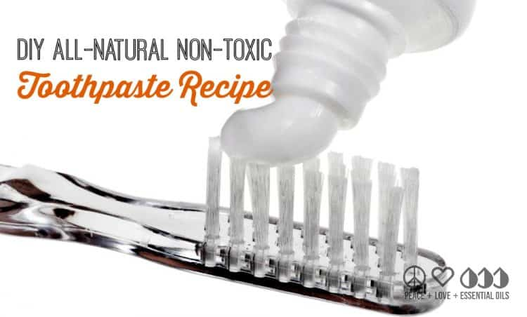 DIY Personal Care - All Natural Non Toxic Toothpaste Recipe