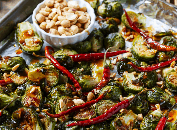 Kung Pao Brussels Sprouts | Spicy Southern Kitchen