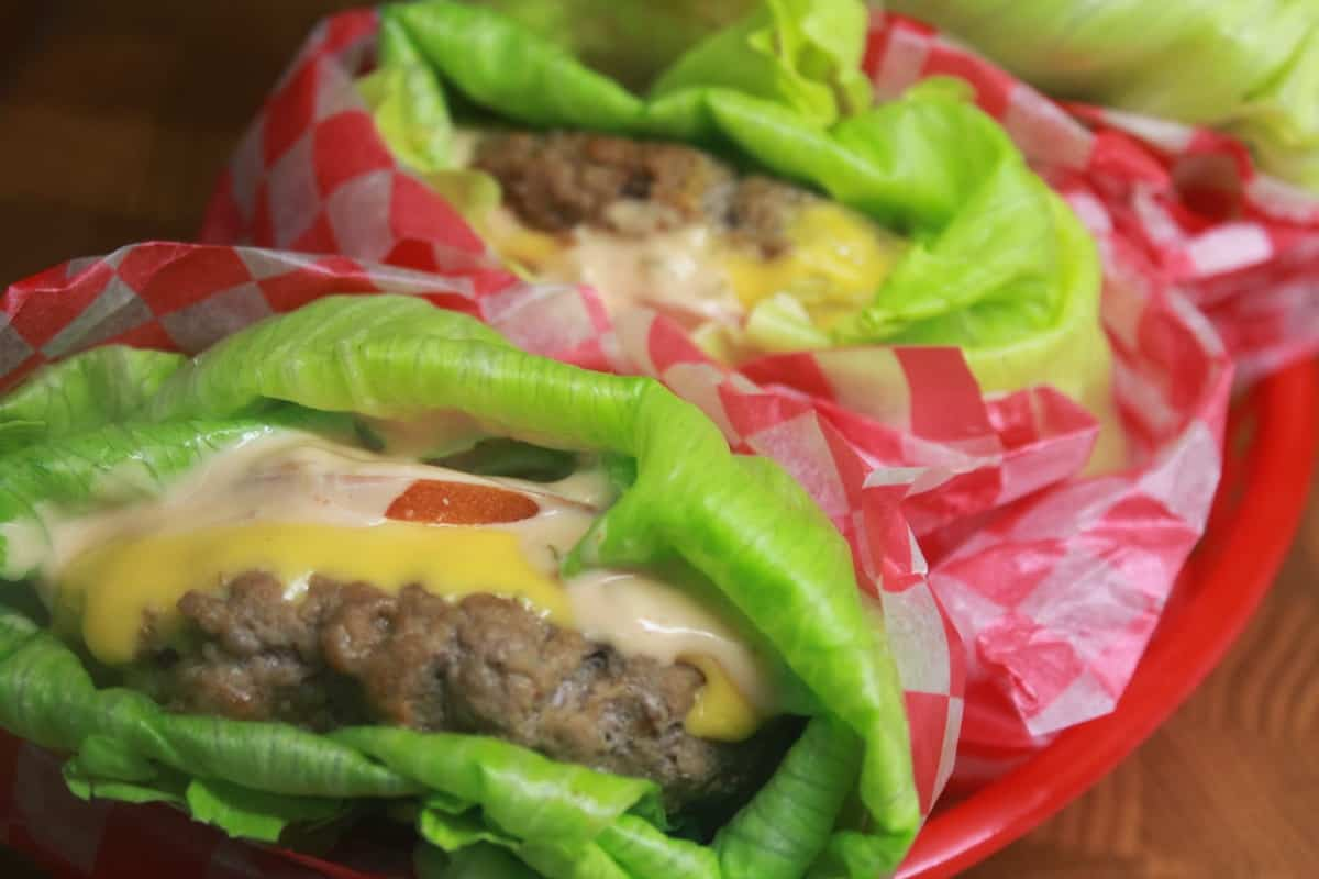 Lettuce Wrapped Cheeseburgers | Food I Make My Soldier