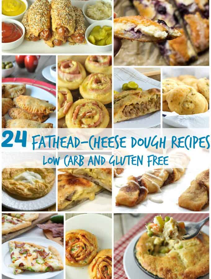 24 Fathead Cheese Dough Recipes – Low Carb, Gluten Free
