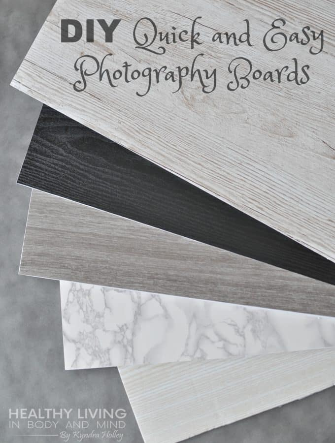 Quick and Easy DIY Photography Boards