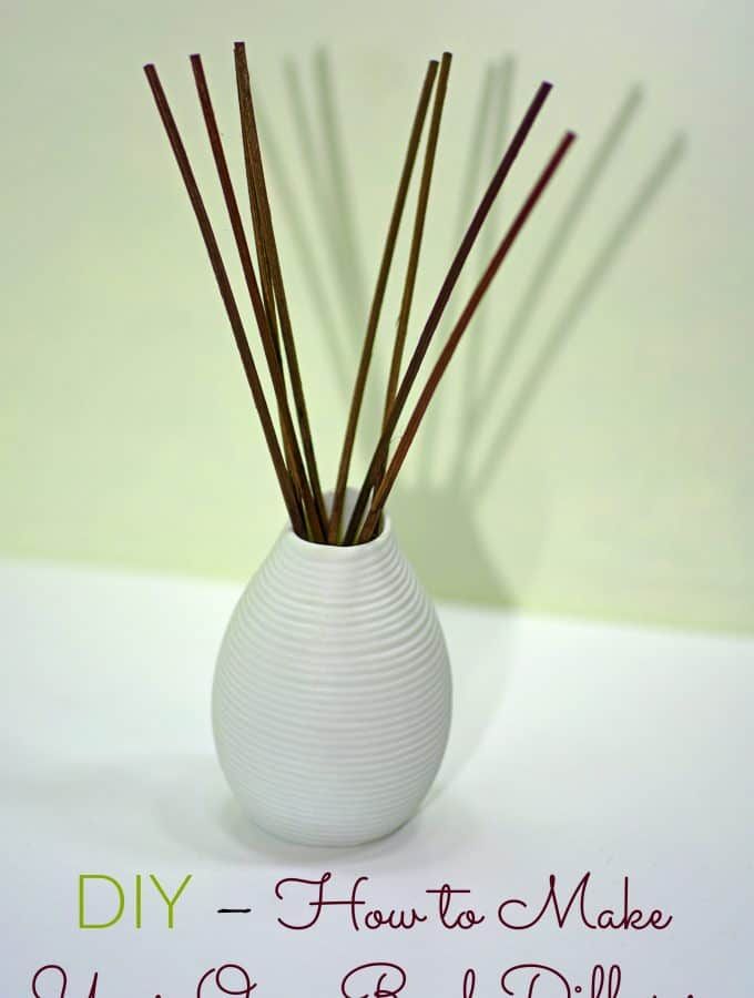DIY - How to Make Your Own Reed Diffuser