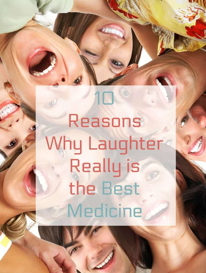 10 Reasons Why Laughter Really is the Best Medicine - Healthy Living in body and Mind