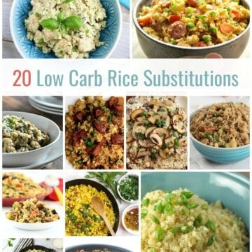 20 Low Carb Rice Substitutions | Healthy Living in Body and Mind