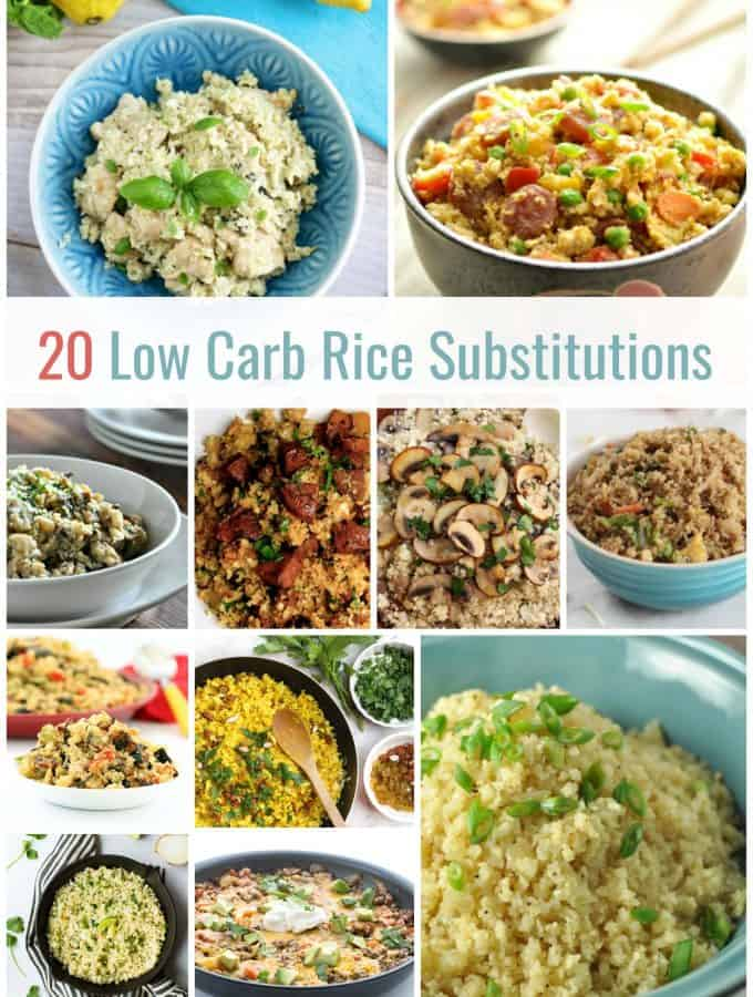 20 Low Carb Rice Substitution Recipes