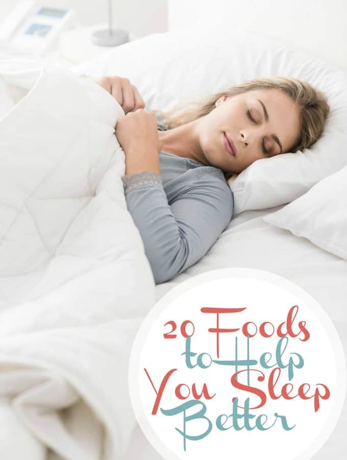 20 Foods to Help You Sleep Better | Healthy living in Body and Mind