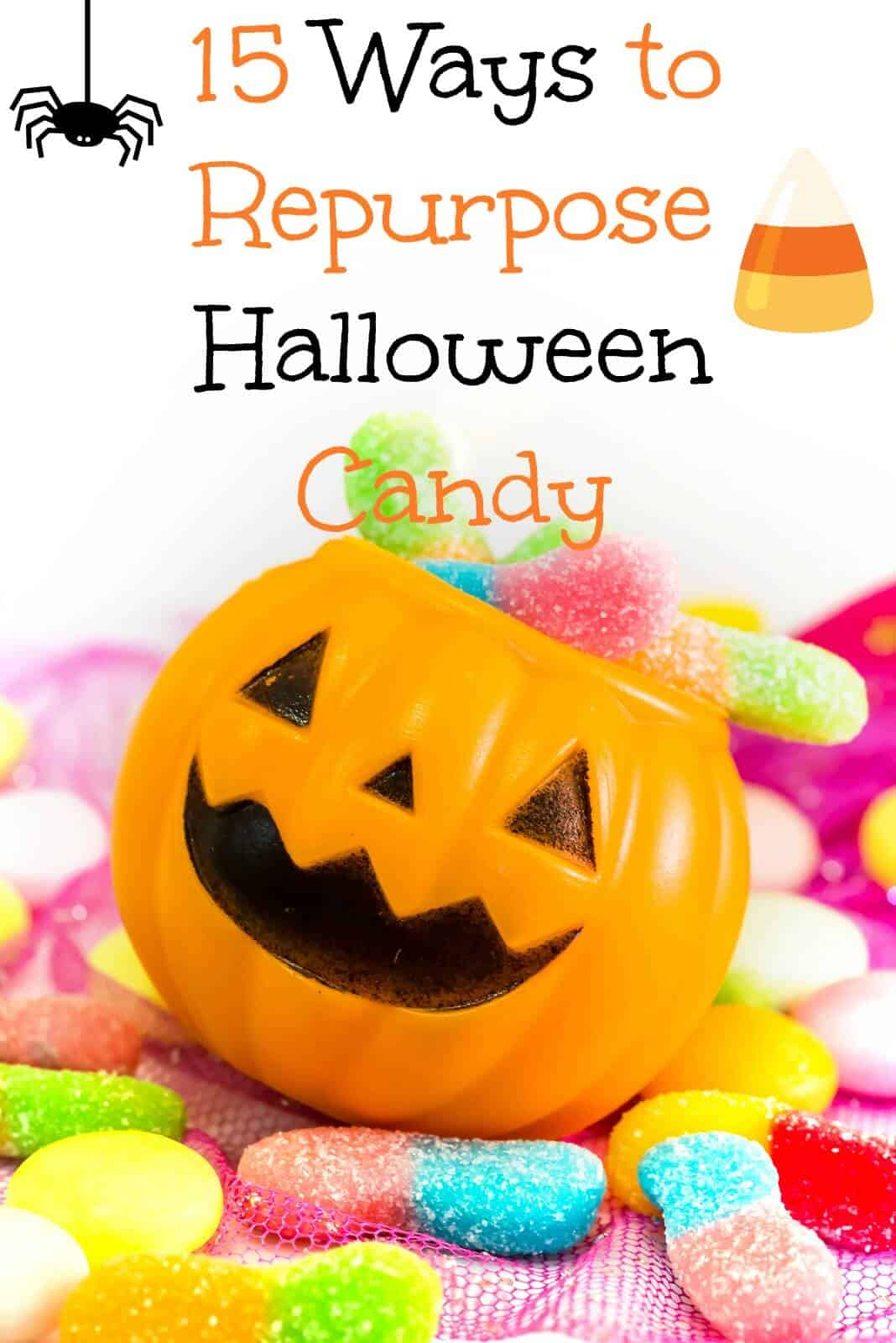 15 Ways to Repurpose Halloween Candy | Healthy Living in Body and Mind.
